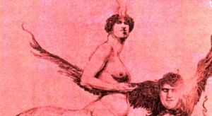 Detail from Emanations of the Ego by Austin Osman Spare