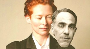 Tilda Swinton and Derek Jarman